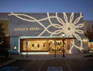 Sign WW 120-3225 Altard State Storefront flexible led tape lighting