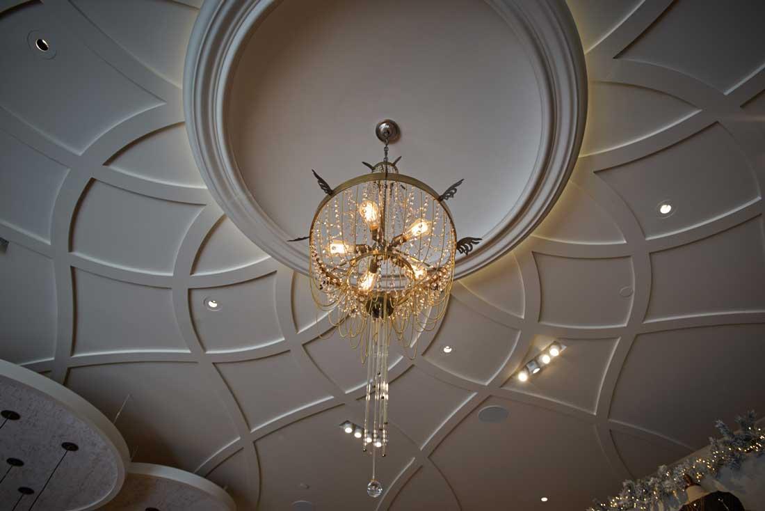 Sign AltarD state NovaFlex LED ceiling