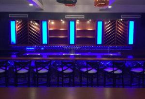 Kephi Greek Kitchen Bar with NovaFlex LED tape