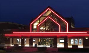 Marcus Theater with Nova Flex LED lighting