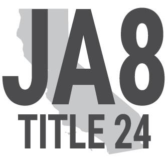 JA8 Title 24 Compliant